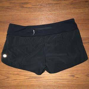 Lululemon Speed Up Shorts Black
